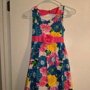RMLA BRAND GIRLS SIZE 10  FLOWERED TANK DRESS